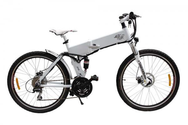 Bicicleta electrica montaña plegable Raptor