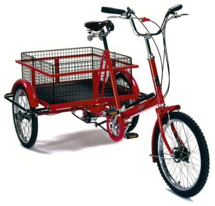 Bicicletas eléctricas para repartos y entregas de comida