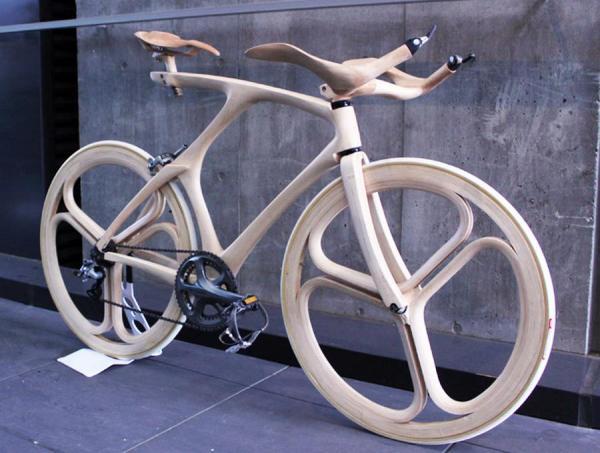 Bicicletas electricas de madera