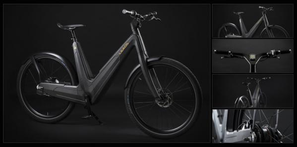 Bicicleta electrica Leaos
