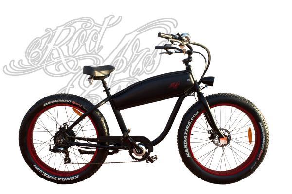 Bicicleta OutLaw Fatbike Cruiser Electrica
