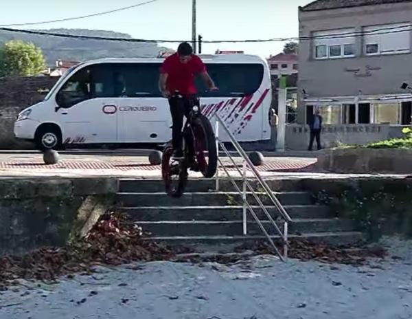 Trucos con bicicletas electricas