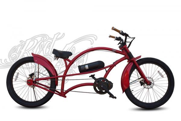 Bicicleta electrica chopper Elcamino