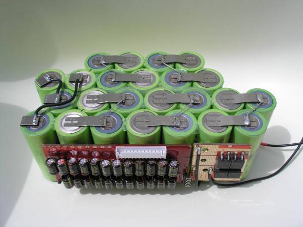 Como construir un pack de baterias