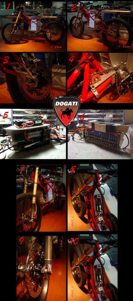 Bicicleta eléctrica Dogati