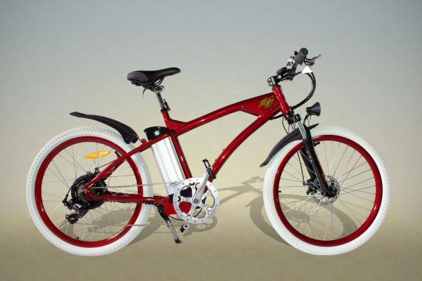 Bicicletas eléctricas de montaña Pulveriza los caminos