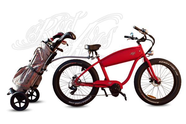 Bicicletas electricas Fatbike en campos de Golf