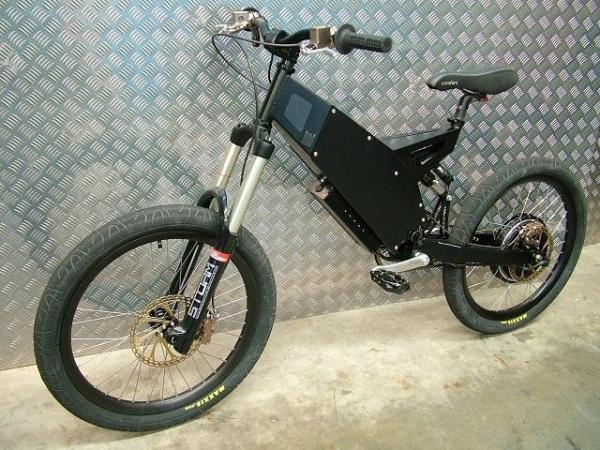 Análisis de la bicicleta eléctrica Stealth Fighter