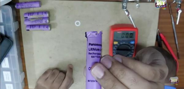 Como arreglar baterías o pilas de litio recargables 18650