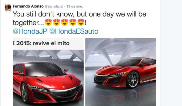 Híbrido Honda NSX-El nuevo coche de Alonso