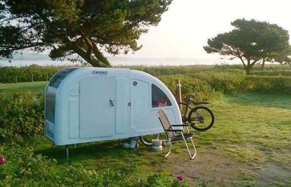 Caravana plegable para bicicletas - PathCamper