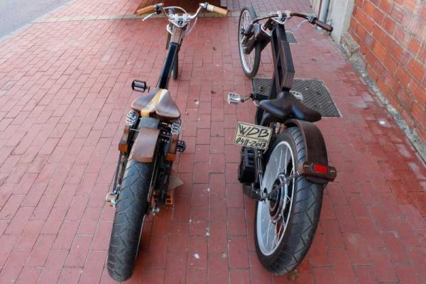 Bicicletas de madera en Discovery Max