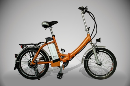 bicicleta eléctrica pocket plegable