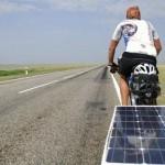 Bicicletas eléctricas alimentadas con energía solar