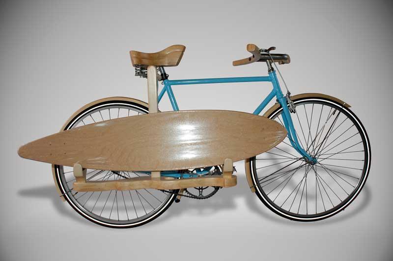 Bicicleta Soporte para tabla de surf