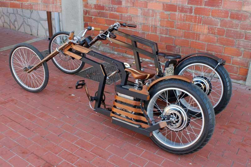 Bicicletas electricas de madera - Bicicletas Eléctricas