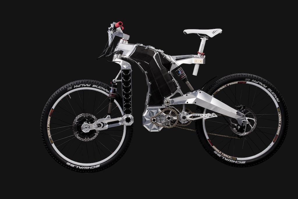 Suspension delantera bicicleta montaña