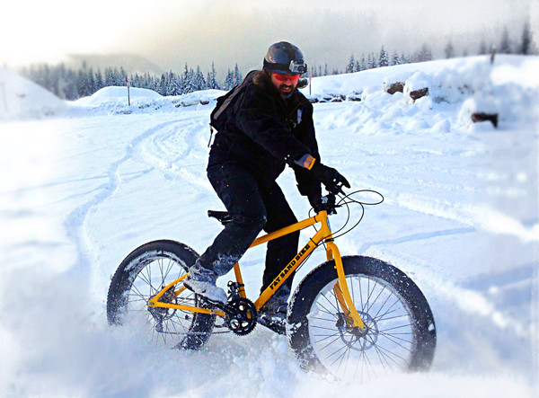 fat bike nieve
