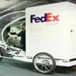Fedex usa triciclos eléctricos para sus entregas en París