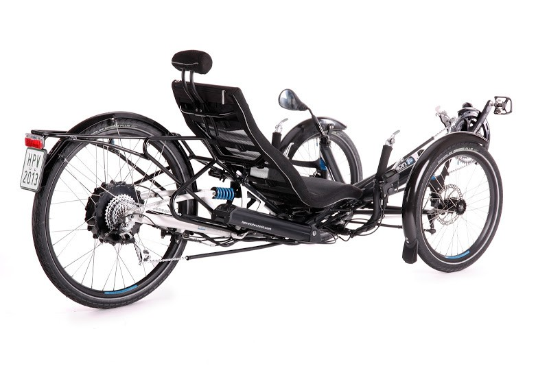 Scorpion trike reclinable
