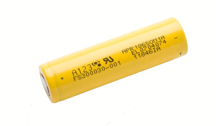 18650 - A123 baterias