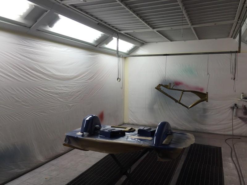 Cabina de pintura bicicletas el ctricas - Cabina pintura ocasion ...