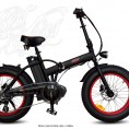Fatbike electrica plegable - Fatty