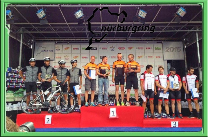 team-bafang-24h-nurburging-podium