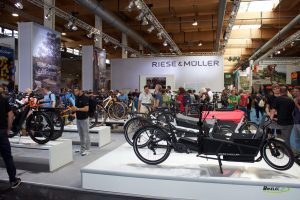 Stand Riese & Muller 2019 Eurobike