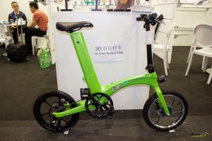 Bicicleta hecha en 3D