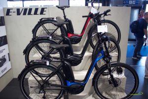 Bicicleta ciudad motor central Bergamont